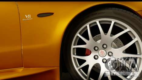 Maserati Gransport 2006 для GTA San Andreas вид сзади