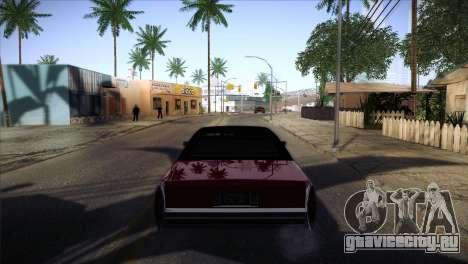 Ghetto ENB v2 для GTA San Andreas второй скриншот