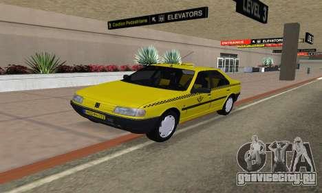 Peugeot 405 Roa Taxi для GTA San Andreas
