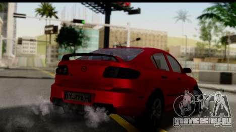 Mazda 3 2008 для GTA San Andreas вид слева