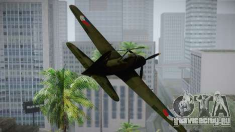 ИЛ-10 Czech Air Force для GTA San Andreas вид сзади