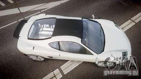 Grotti Turismo GT Carbon v2.0 для GTA 4 вид справа