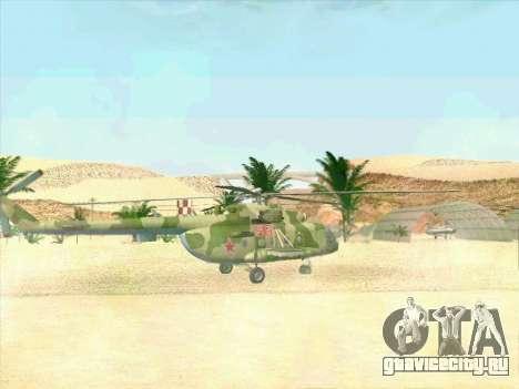 Ми-8 для GTA San Andreas вид справа