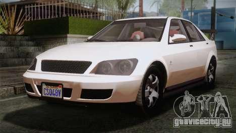 GTA 5 Karin Sultan SA Mobile для GTA San Andreas