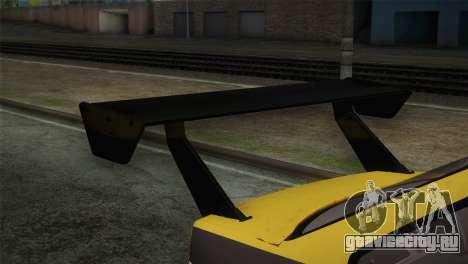 BMW E36 Drift для GTA San Andreas вид сзади