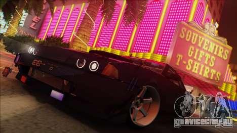 Elegy Undercover для GTA San Andreas вид изнутри