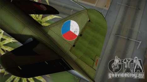 ИЛ-10 Czech Air Force для GTA San Andreas вид сзади слева