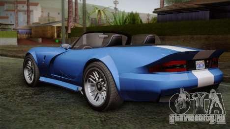 GTA 5 Bravado Banshee для GTA San Andreas вид слева