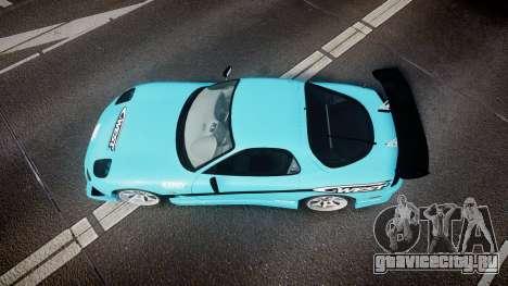 Mazda RX-7 C-West для GTA 4 вид справа