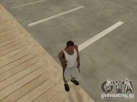 Русские пистолеты-пулемёты для GTA San Andreas восьмой скриншот