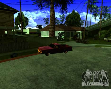 Warm California ENB для GTA San Andreas