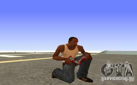 Glock-18 водяной CS:GO для GTA San Andreas четвёртый скриншот