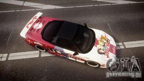 Honda NSX 1998 [EPM] k-on tainaka ritsu для GTA 4 вид справа