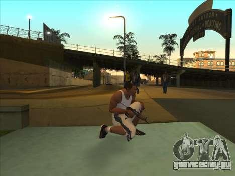Русские пистолеты-пулемёты для GTA San Andreas второй скриншот