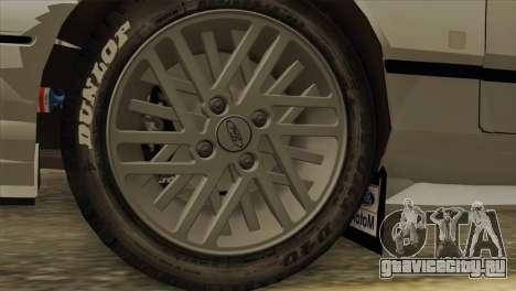 Ford Sierra Sapphire 4x4 RS Cosworth для GTA San Andreas вид справа
