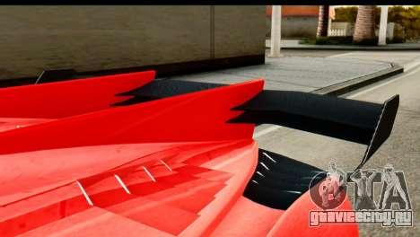 GTA 5 Pegassi Zentorno v2 IVF для GTA San Andreas вид справа