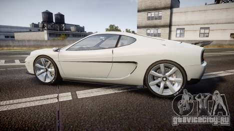 Grotti Turismo GT Carbon v2.0 для GTA 4 вид слева