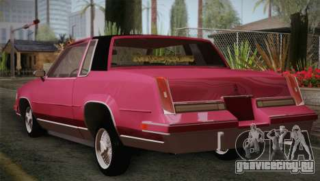 Oldsmobile Cutlass 1987 v2.2 для GTA San Andreas вид слева
