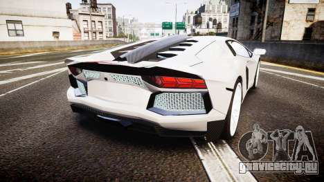 Lamborghini Aventador Hamann Limited 2014 [EPM] для GTA 4 вид сзади слева