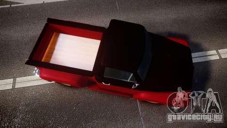GTA V Vapid Slamvan для GTA 4 вид справа