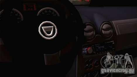 Dacia Logan 2006 для GTA San Andreas вид сзади