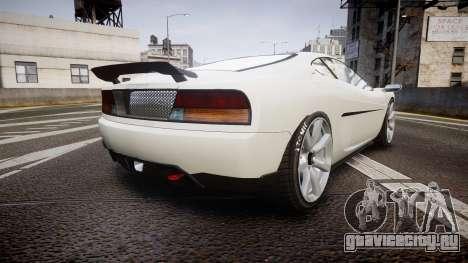 Grotti Turismo GT Carbon v2.0 для GTA 4 вид сзади слева