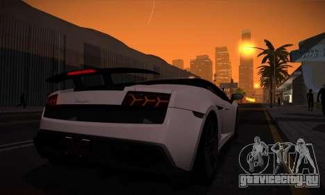 ENB Version v3.1 для GTA San Andreas четвёртый скриншот