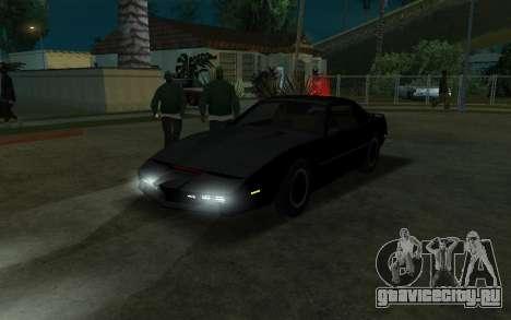 K.i.T.T. 2000 для GTA San Andreas