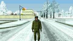 Пак военных РФ в зимней форме