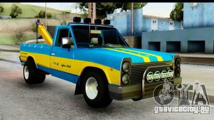 Nissan Junior 1982 Pickup Towtruck для GTA San Andreas