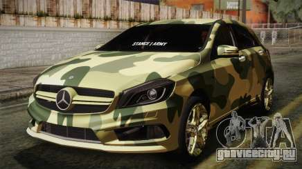 Mercedes-Benz A45 AMG Camo Edition для GTA San Andreas