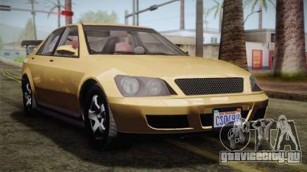 GTA 5 Karin Sultan для GTA San Andreas