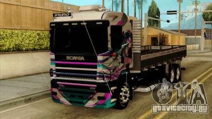 Scania 124G R400 Hatsune Miku Livery для GTA San Andreas