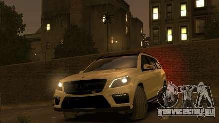Mercedes-Benz GL500 2014 для GTA 4