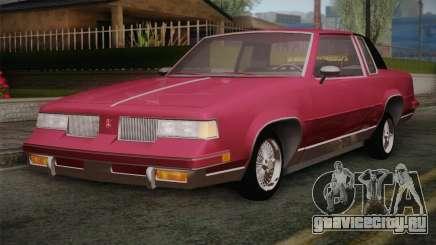Oldsmobile Cutlass 1987 v2.2 для GTA San Andreas