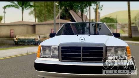 Mercedes Benz E320 W124 Coupe для GTA San Andreas вид сзади слева