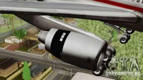 Lookheed L-1011 LTU Intl для GTA San Andreas вид справа