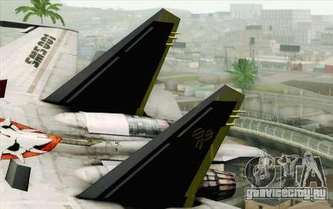 Sukhoi SU-27 Macross Frontier для GTA San Andreas вид сзади слева