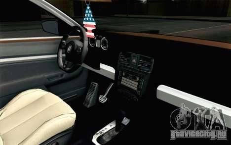 Volkswagen Jetta Air для GTA San Andreas вид справа