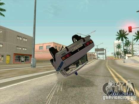 Москвич 2140 Милиция для GTA San Andreas вид сбоку