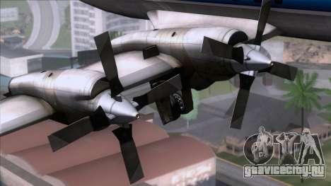 L-188 Electra TAME для GTA San Andreas вид справа