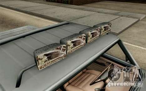 Pickup from Alan Wake для GTA San Andreas вид сзади