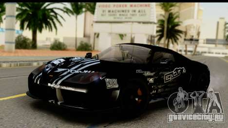 Noble M600 2010 HQLM для GTA San Andreas двигатель