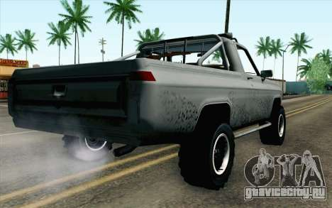Pickup from Alan Wake для GTA San Andreas вид слева