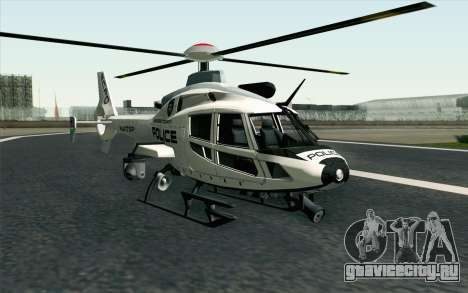 NFS HP 2010 Police Helicopter LVL 1 для GTA San Andreas