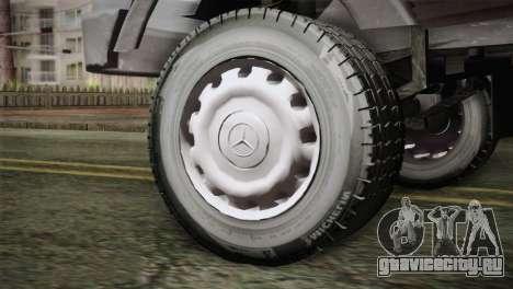Mercedes-Benz Khavar для GTA San Andreas вид сзади слева