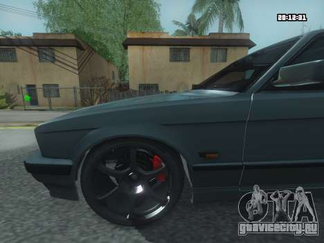 BMW 525 E34 Tune для GTA San Andreas вид сзади слева