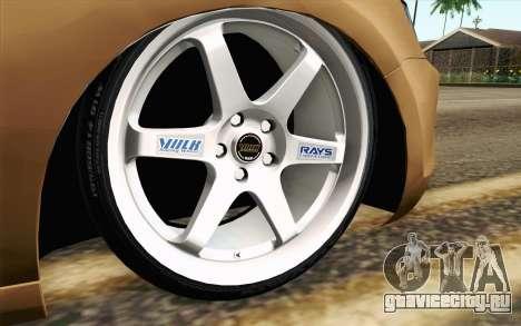 Volkswagen Jetta Air для GTA San Andreas вид сзади слева
