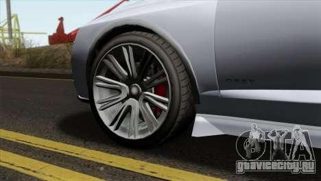 GTA 5 Obey Tailgater IVF для GTA San Andreas вид сзади слева