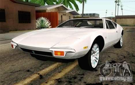 De Tomaso Pantera 1971 для GTA San Andreas